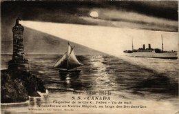 CPA AK S.S. Canada - Paquebot De La Cie C. Fabre - Ships (774684) - Steamers