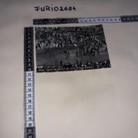 C-91016 AREZZO GIOSTRA DEL SARACINO GLI ARMATI IN PIAZZA GRANDE PANORAMA UNIFORME FOLKLORE - Arezzo