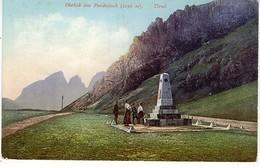 CANAZEI Obelisk Am Pordoijoch SUD TIROL - Bolzano