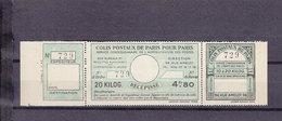 FRANCE COLIS POSTAUX DE PARIS POUR PARIS DALLAY 142 - Neufs