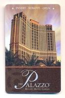 The Palazzo Hotel & Casino, Las Vegas, Used Magnetic Hotel Room Key Card # Palazzo-3 - Chiavi Elettroniche Di Alberghi