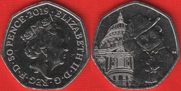 "United Kingdom 50 Pence 2019 ""Paddington - St. Paul's Cathedral"" UNC - 50 Pence"