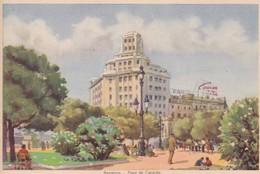 Postal - Barcelona
