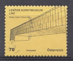 Autriche 2012  Mi.Nr: 2979 Kunsthäuser  Oblitèré / Used / Gebruikt - 1945-.... 2ème République