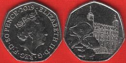 "United Kingdom 50 Pence 2019 ""Paddington At The Tower"" UNC - 50 Pence"