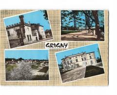 69 Grigny Carte 4 Vues CPSM GF - Grigny