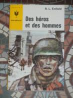 MARABOUT JUNIOR 321 - DES HEROS ET DES HOMMES - Marabout Junior