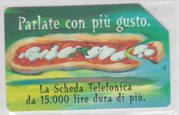 ITALY 1998 PARLATE CON PIU GUSTO PIZZA - Alimentation