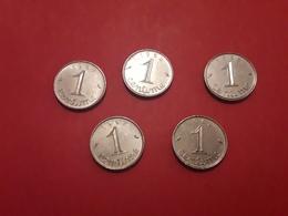 1962 Epis 1 Centimes - Munten & Bankbiljetten