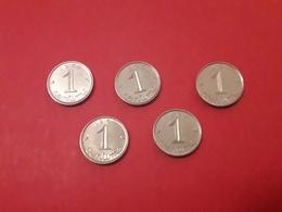 1968 Epis 1 Centimes - Munten & Bankbiljetten