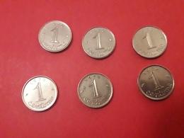 1970 Epis 1 Centimes - Munten & Bankbiljetten