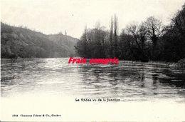 CH - Suisse - Le Rhône Vu De La Jonction - GE Genève