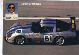 Enrico Bertaggia  -  Callaway Corvette - Championnat BPR Granturismo  -  Publicité  -  CPM - Autres
