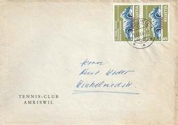 "Motiv Brief  ""Tennis Club Amriswil""          1964 - Briefe U. Dokumente"