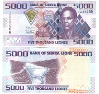Sierra Leone - 5000 Leones 2018 UNC New Date Lemberg-Zp - Sierra Leone