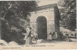 Haute Corse.  Loreto-di-Casinca.  La Fontaine. - France