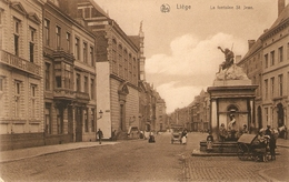 Liège : La Fontaine St. Jean ( Crèmekar + Hondekar) - Liege