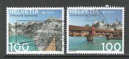 Zwitserland 2018, Mi 2541-42, Reeks, Europa Cept,    Gestempeld - Switzerland