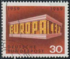 Allemagne 1969 Yv. N°447 - Europa - CEPT - Oblitéré - Gebraucht