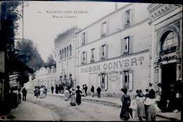 94 NOGENT SUR MARNE GUINGUETTE CASINO MAISON CONVERT GRANDE ANIMATION ARCHITECTURE - Nogent Sur Marne