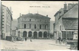 88 - BAINS LES BAINS - Hôtel De Ville   *** PLAN RARE *** - Bains Les Bains