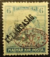 HUNGARY 1919 / ROMANIAN OCCUPATION - MLH - Sc# 2N37 - 6f - Szeged