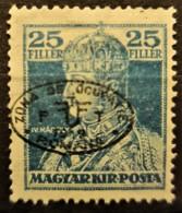 HUNGARY 1919 / ROMANIAN OCCUPATION - MLH - Sc# 2N30a - 25f - Szeged