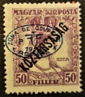 HUNGARY 1919 / ROMANIAN OCCUPATION - MLH - Sc# 2N51 - 50f - Szeged