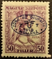 HUNGARY 1919 / ROMANIAN OCCUPATION - MLH - Sc# 2N32 - 50f - Szeged