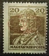 HUNGARY 1919 / ROMANIAN OCCUPATION - MLH - Sc# 2N29 - 20f - Szeged