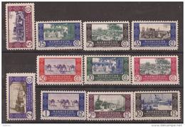 MA280-L4098TEUESPCOLMARR.Marruecos .Maroc.Marocco.Comercio.M ARRUECOS  ESPAÑOL.Comercio.1948  (Ed 280/90**) S/c .MAGNIF - Spanisch-Marokko