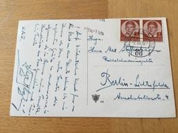 K2 Jugoslawien 1936 AK Mit Bahnpost Zabok - Grobelno Nach Berlin - 1931-1941 Kingdom Of Yugoslavia