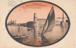 13 - MARSEILLE - Fort Saint Jean Et La Cathédrale - Joliette, Zone Portuaire
