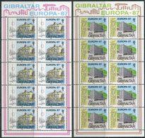 Gibraltar 1987. Michel #519/20 MNH/Luxe. Europa-CEPT. Modern Architecture. (B25) - Architecture