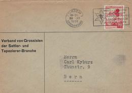 Verband Grossisten Sattler Tapezierer - Zürich 1938 - Welt- & Europameisterschaft Eishockey - Switzerland