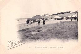 CPA   Port Louis (56) Carte Précurseur   Environs De Lorient La Plage   Tentes  Ed Breger N° 16 - Port Louis