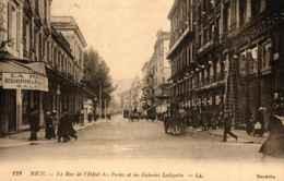 06 - NICE - La Rue De L'Hôtel Des Postes Et Les Galeries Lafayette - Autres