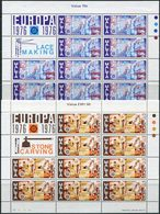 Malta 1976. Michel #532/33 MNH/Luxe. Europa-CEPT. Handicrafts. 2-Klb. (B25) - Europa-CEPT