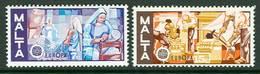 Malta 1976. Michel #532/33 MNH/Luxe. Europa-CEPT. Handicrafts. (B25) - Europa-CEPT