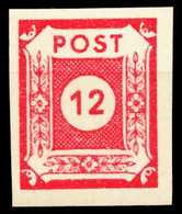 SBZ OSTSACHSEN Nr 63v Postfrisch X655DA2 - Zone Soviétique
