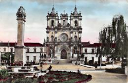 R349287 140. Portugal. Mosteiro De Alcobaca. Torres. Verdadeira Fotografia - Postales