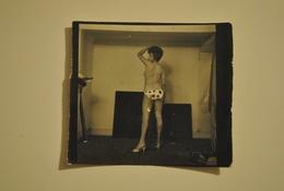 Petite Photo Photographie Pin Up Femme Seins Nus Petite Tenue Erotique - Pin-ups