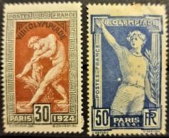 FRANCE 1924 - MLH - YT 185, 186 - Olympia - Frankrijk