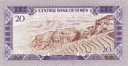 YEMEN ARAB P. 14a 20 R 1973 UNC - Yemen