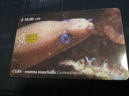 CUBA $10,00 CHIPCARD   Fine Used Card  ** 1649** - Kuba