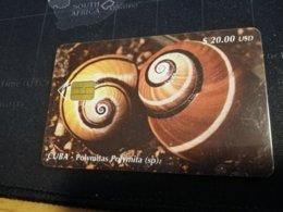 CUBA $20,00 CHIPCARD   Fine Used Card  ** 1650** - Kuba