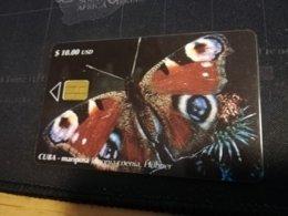 CUBA $10,00 CHIPCARD   Fine Used Card  ** 1652** - Kuba