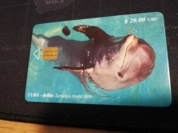 CUBA $20,00 CHIPCARD   Fine Used Card  ** 1654** - Kuba