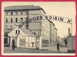 CPA CPSM CARTE-PHOTO KEHL Allemagne Kaserne Caserne VOISIN (occupation Française) - Kehl