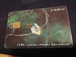 CUBA $10,00 CHIPCARD   Fine Used Card  ** 1659** - Kuba